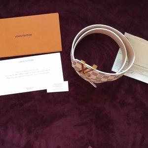 Damier Azur Louis Vuitton Belt